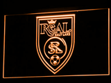 Real Salt Lake LED Neon Sign - Legacy Edition - Orange - SafeSpecial