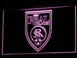 Real Salt Lake LED Neon Sign - Legacy Edition - Purple - SafeSpecial
