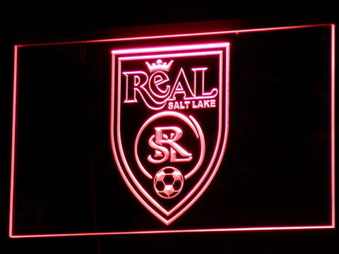 Real Salt Lake LED Neon Sign - Legacy Edition - Red - SafeSpecial