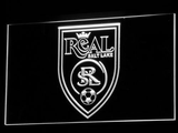 Real Salt Lake LED Neon Sign - Legacy Edition - White - SafeSpecial