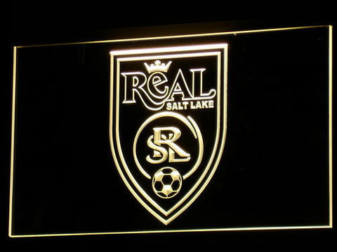 Real Salt Lake LED Neon Sign - Legacy Edition - Yellow - SafeSpecial