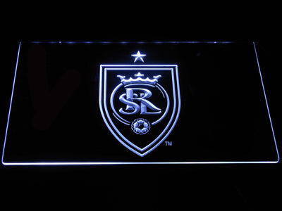 Real Salt Lake LED Neon Sign - White - SafeSpecial