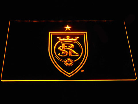 Image of Real Salt Lake LED Neon Sign - Yellow - SafeSpecial