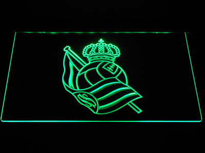 Real Sociedad LED Neon Sign - Green - SafeSpecial