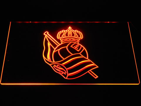 Image of Real Sociedad LED Neon Sign - Orange - SafeSpecial