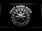 Red Hot Chili Peppers Best Band Ever LED Neon Sign - White - SafeSpecial