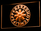 Red Hot Chili Peppers LED Neon Sign - Orange - SafeSpecial