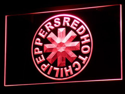 Red Hot Chili Peppers LED Neon Sign - Red - SafeSpecial