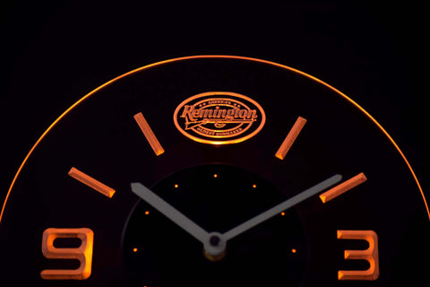 Image of Remington Modern LED Neon Wall Clock - Yellow - SafeSpecial