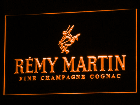 Image of Remy Martin LED Neon Sign - Orange - SafeSpecial