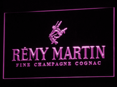 Remy Martin LED Neon Sign - Purple - SafeSpecial