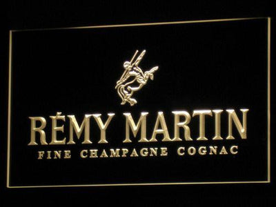 Remy Martin LED Neon Sign - Yellow - SafeSpecial