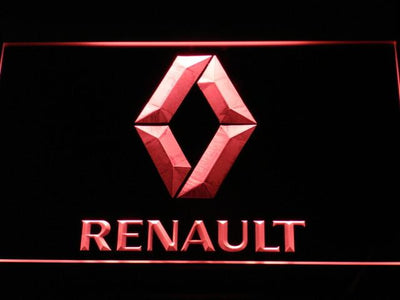 Renault LED Neon Sign - Red - SafeSpecial