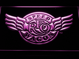 REO Speedwagon LED Neon Sign - Purple - SafeSpecial