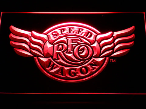 Image of REO Speedwagon LED Neon Sign - Red - SafeSpecial