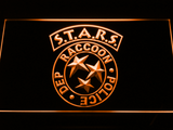 Resident Evil STARS LED Neon Sign - Orange - SafeSpecial