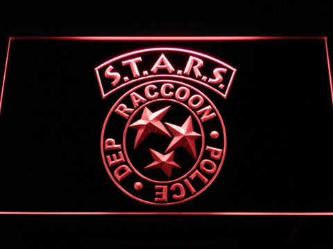 Resident Evil STARS LED Neon Sign - Red - SafeSpecial