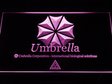 Resident Evil Umbrella Corporation LED Neon Sign - Purple - SafeSpecial