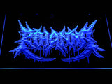 Rihanna Death Metal VMA Logo LED Neon Sign - Blue - SafeSpecial