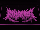 Rihanna Death Metal VMA Logo LED Neon Sign - Purple - SafeSpecial