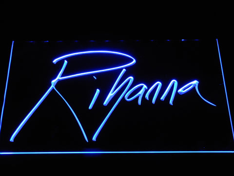 Image of Rihanna LED Neon Sign - Blue - SafeSpecial
