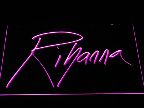 Image of Rihanna LED Neon Sign - Purple - SafeSpecial