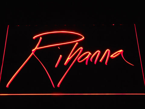 Image of Rihanna LED Neon Sign - Red - SafeSpecial
