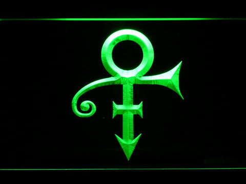 RIP - Prince Symbol LED Neon Sign - Green - SafeSpecial