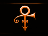 RIP - Prince Symbol LED Neon Sign - Orange - SafeSpecial