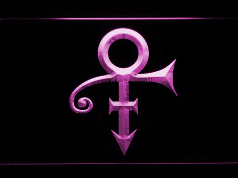 RIP - Prince Symbol LED Neon Sign - Purple - SafeSpecial