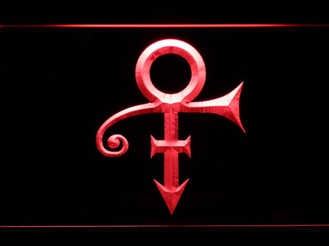 RIP - Prince Symbol LED Neon Sign - Red - SafeSpecial