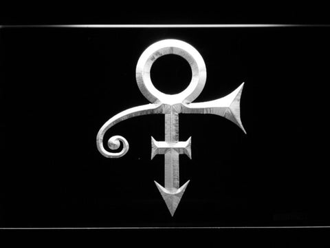 RIP - Prince Symbol LED Neon Sign - White - SafeSpecial