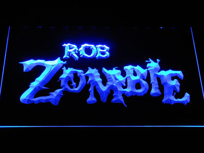 Rob Zombie LED Neon Sign - Blue - SafeSpecial