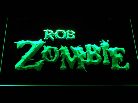 Image of Rob Zombie LED Neon Sign - Green - SafeSpecial