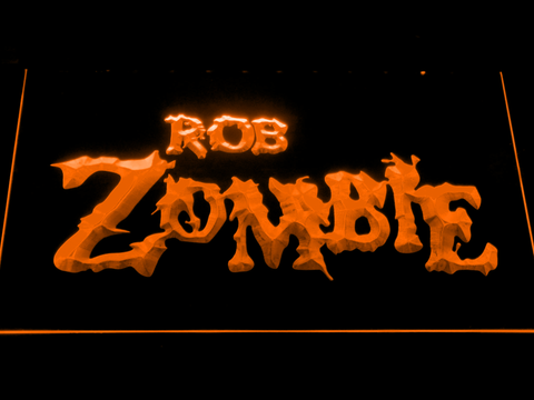 Image of Rob Zombie LED Neon Sign - Orange - SafeSpecial