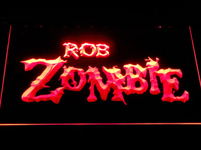 Rob Zombie LED Neon Sign - Red - SafeSpecial