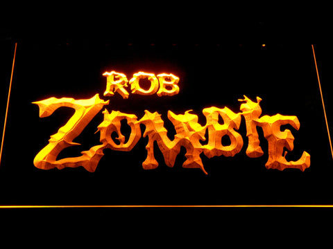 Image of Rob Zombie LED Neon Sign - Yellow - SafeSpecial