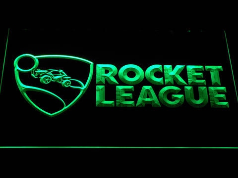 Image of Rocket League LED Neon Sign - Green - SafeSpecial