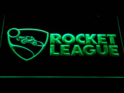 Rocket League LED Neon Sign - Green - SafeSpecial