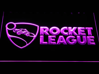 Rocket League LED Neon Sign - Purple - SafeSpecial