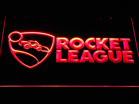 Rocket League LED Neon Sign - Red - SafeSpecial