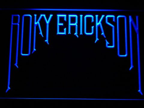 Roky Erickson LED Neon Sign - Blue - SafeSpecial