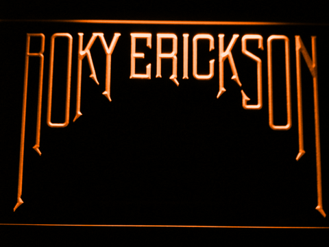 Roky Erickson LED Neon Sign - Orange - SafeSpecial