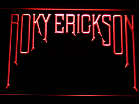 Roky Erickson LED Neon Sign - Red - SafeSpecial