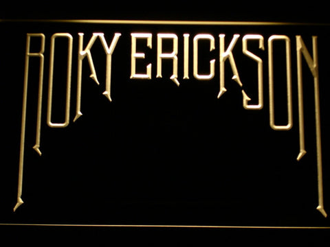 Roky Erickson LED Neon Sign - Yellow - SafeSpecial