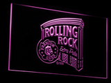 Rolling Rock Extra Pale LED Neon Sign - Purple - SafeSpecial