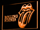 Rolling Stones LED Neon Sign - Orange - SafeSpecial