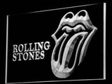 Rolling Stones LED Neon Sign - White - SafeSpecial