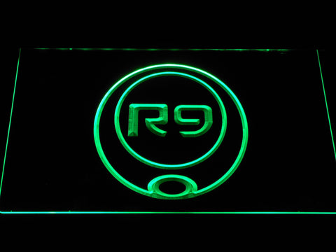 Image of Ronaldo R9 LED Neon Sign - Green - SafeSpecial