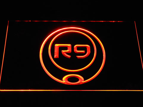 Image of Ronaldo R9 LED Neon Sign - Orange - SafeSpecial